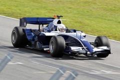 Kund kör Formel 1 bilen Mod Williams FW29